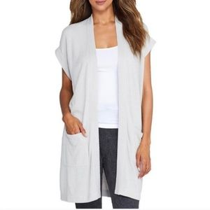 Barefoot Dreams CozyChic Sleeveless Cardigan
